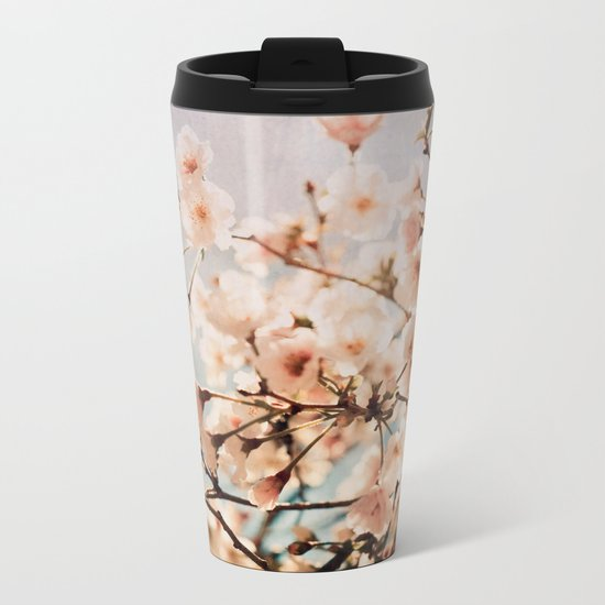 Spring Romance Metal Travel Mug