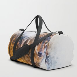 Timber Wolf Duffle Bag