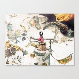 Dream Fishing Canvas Print