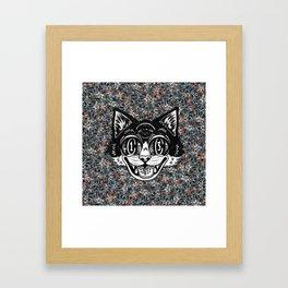 The Creative Cat Framed Art Print