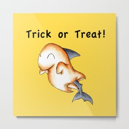 Spooky Shark Metal Print