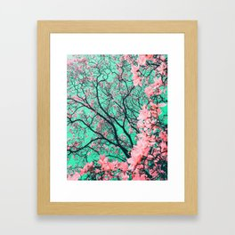 The tree from another dimension Framed Art Print