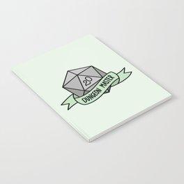 Dungeon Master D20 Notebook