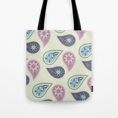 Praisley pattern Tote Bag
