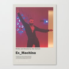 Ex Machina / Dance / Film Poster Canvas Print