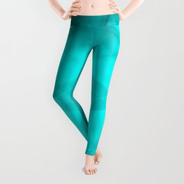 Scalding triangular strokes of intersecting sharp lines with light blue triangles and a star. Leggings