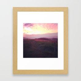 Max Patch. North Carolina. Framed Art Print