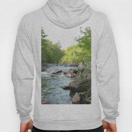 Watercolor Eno River, NC 2 Hoody