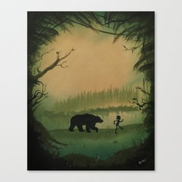 The Jungle Book by Rudyard Kipling Canvas Print