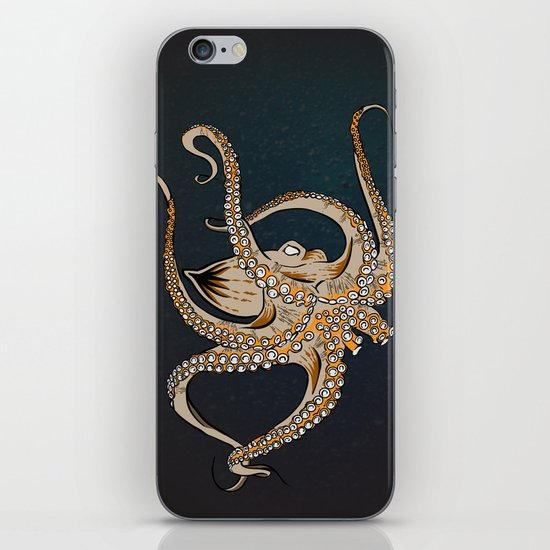 Embrace Of The Octopus iPhone Skin