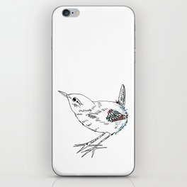 English Wren iPhone Skin