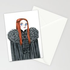 Lady Stark Stationery Cards