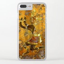 Kokopelli Clear iPhone Case
