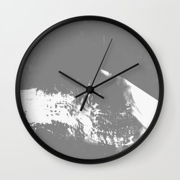 White Mountain #Abstract Wall Clock