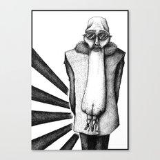 ASS FACE Canvas Print
