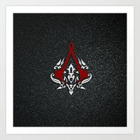 assassins creed Art Prints featuring Creed Assassins  by neutrone