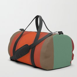 Rust Turquoise Spice 2 - Color Therapy Duffle Bag