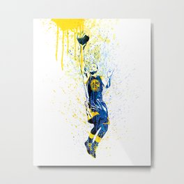SPORTS ART - SCUR001 Metal Print