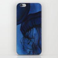 jellyfish iPhone & iPod Skins featuring Jellyfish by Dana Martin