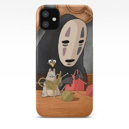 Spirited Away - Boh and No Face Knitting iPhone Case