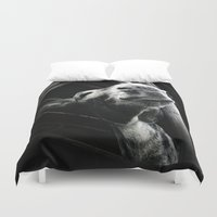 donkey Duvet Covers featuring donkey by chicco montanari