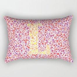 """""""L"""" Eye Test Full Rectangular Pillow"""