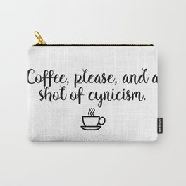 Gilmore Girls - Coffee and Cynicism Carry-All Pouch