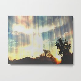Enter to the Divine Metal Print