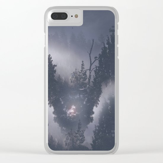 Forest dreams II Clear iPhone Case