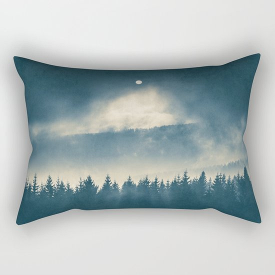 Follow the light Rectangular Pillow