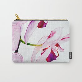 purple orchids Carry-All Pouch