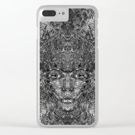 Up in Smokes II Clear iPhone Case