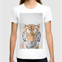 Tiger - Colorful T-shirt