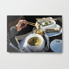 Asian Food 03 Metal Print