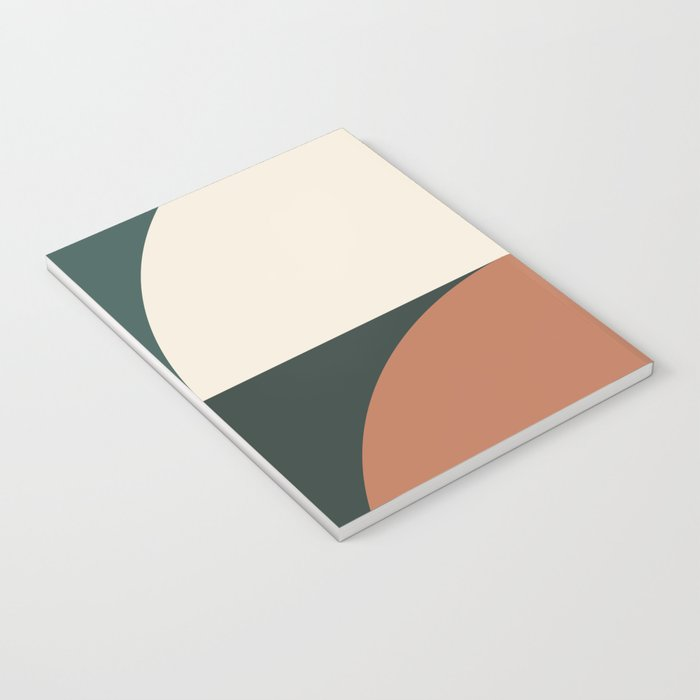 Abstract Geometric 01E Notebook