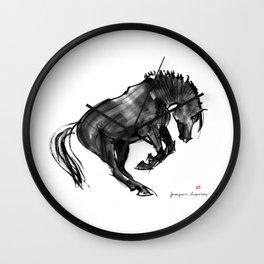 Young Horse (Devil) Wall Clock