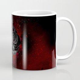 Black Rose Coffee Mug