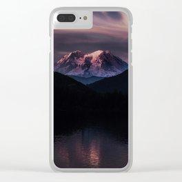 Mt. Rainier Clear iPhone Case