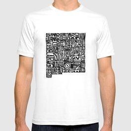 Typographic New Mexico T-shirt
