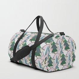 Bunnies and Trees 2 (Cute Buns) Duffle Bag
