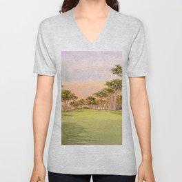 TPC Harding Park Golf Course 16th Hole Unisex V-Neck