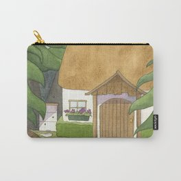 Goldilocks Comes Upon a Woodland Cottage Carry-All Pouch
