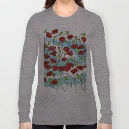 Field Poppies Long Sleeve T-shirt
