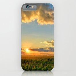 Iowa Corn Fields iPhone Case