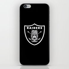 Raiders iPhone & iPod Skin