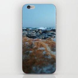 Orange and Blue iPhone Skin