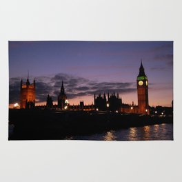 London at Night Rug