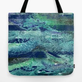 Water Stripes Tote Bag