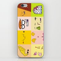 cartoons iPhone & iPod Skins featuring Classic Cartoons by DanielBergerDesign