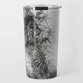 King LeBron in Flight! Travel Mug